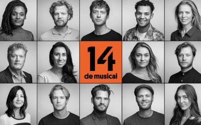 Cast 14 de musical bekend